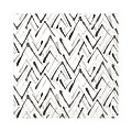 Napkins ZACK 33x33cm TISSUE 3-ply grey/black - 600pcs.