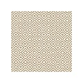 LAGOS-BASE Cocktail-Napkins 25x25cm AIRLAID beige - 600pcs.