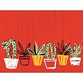 SANCHO Place Mats 40x30cm Linclass-AIRLAID red - 600pcs.