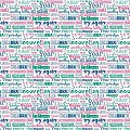 SAN SILVESTRO Table Cloths 80x80cm LINCLASS pink/green - 60pcs.