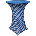 Stretch Table Cover Ø70-85cm Polyester Bavaria - 1pc.