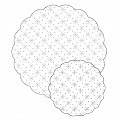 Tray Doilies CLASSIC Ø90mm TISSUE white - 1000pcs.