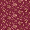 CRISTAL Table Cloths Christmas 80x80cm LINCLASS burgundy - 60pcs