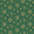 CRISTAL Table Cloths Christmas 80x80cm LINCLASS green - 60pcs.