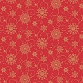 CRISTAL Table Cloths Christmas 80x80cm LINCLASS red - 60pcs.