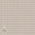 KIYAN Table Cloths 80x80cm PEARL COATING brown - 45pcs.