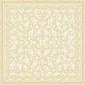 Table Cloths LACE 80x80cm LINCLASS-Airlaid beige - 60pcs.