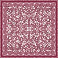 Table Cloths LACE 80x80cm LINCLASS-Airlaid burgundy - 60pcs.