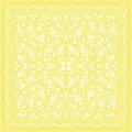 Table Cloths LACE 80x80cm LINCLASS-Airlaid yellow - 60pcs.