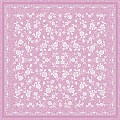 Table Cloths LACE 80x80cm LINCLASS-Airlaid pink - 60pcs.