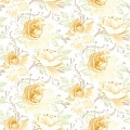 Table Cloths ROSALIE 80x80cm LINCLASS-Airlaid yellow - 60pcs.