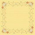 Table Cloths SUNNY NEW DAY 80x80cm LINCLASS-Airlaid yellow - 60p