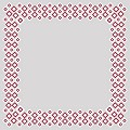 Table Cloths ART-DECO 80x80cm Linclass-Airlaid burgundy - 60pcs.