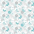 NATALIE Table Cloths 80x80cm LINCLASS-Airlaid turquoise/grey - 6