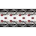 ANNIKA Table Runners 40cmx24lfm LINCLASS grey/black - 4pcs.