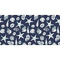 Table Runners BEACH 40cmx24lfm LINCLASS blue - 4pcs.