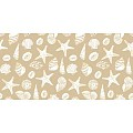 Table Runners BEACH 40cmx24lfm LINCLASS sand - 4pcs.