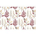 CEDRIK Table Runners 40cmx24lfm Linclass bordeaux - 4pcs.