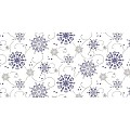 CRISTAL Table Runners Christmas 40cmx24lfm LINCLASS blue - 4pcs.