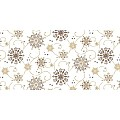 CRISTAL Table Runners Christmas 40cmx24lfm LINCLASS brown - 4pcs