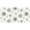 CRISTAL Table Runners Christmas 40cmx24lfm LINCLASS black - 4pcs