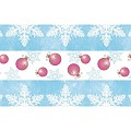 Table Runners Christmas 40cmx24lfm LINCLASS blue/pink - 4pcs.