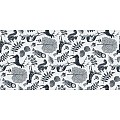 Table Runners FOREST 40cmx24lfm LINCLASS-Airlaid grey/black - 4p