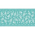 Table Runners LACE 40cmx24lfm LINCLASS-Airlaid turquoise - 4pcs.