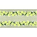 Table Runners LOVELY ROSES 40cmx24lfm LINCLASS yellow - 4pcs.