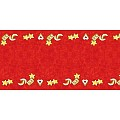 Table Runners MERLE 40cmx24lfm LINCLASS-Airlaid red - 4pcs.