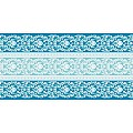 PASCAL Table Runners 40cmx24lfm LINCLASS aqua blue - 4pcs.