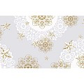 Table Runners STERNENSCHEIN 40cmx24lfm AIRLAID grey/gold - 4pcs.