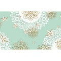 Table Runners STERNENSCHEIN 40cmx24lfm AIRLAID mint green - 4pcs