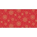 CRISTAL Table Runners Christmas 40cmx24lfm LINCLASS red - 4pcs.