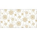 CRISTAL Table Runners Christmas 40cmx24lfm LINCLASS white - 4pcs