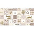 PEPE Table Runners Christmas 40cmx24lfm LINCLASS beige/gold - 4p