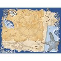 DEL MAR Place Mats 40x30cm LINCLASS-Airlaid blue - 600pcs.