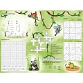 JUNGLE PlaceMats 40x30cm Paper - 500pcs.