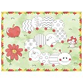 LITTLE CATERPILLAR PlaceMats 40x30cm LINCLASS - 600pcs.