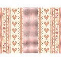 MATHILDA Place Mats 40x30cm LINCLASS-Airlaid red - 600pcs.