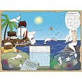 TREASURE ISLAND PlaceMats 40x30cm LINCLASS-Airlaid - 600pcs.