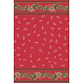 ELISE Xmas Table Cloths 120x220cm LINCLASS red/green - 20pcs.