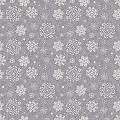 STEVEN Xmas Table Cloths 80x80cm AIRLAID silver grey - 50pcs.