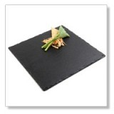 Natural slate trays