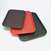 Fast Food-Tray 4Colors 35x27cm/height2cm red - 1pc. 2