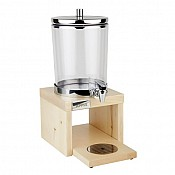 JuiceDispenser BRIDGE 6Liter 35x22cm STAINLESS STEEL/WOOD light  1