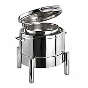Chafing Dish PREMIUM 10Liter 44x48cm/H39cm StainlessSteel - 1pc. 1