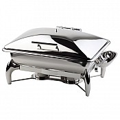 Chafing Dish GLOBE 9Liter GN1/1 59x43,5cm/H34cm StainlessSteel -