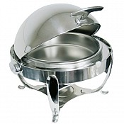 Chafing Dish ROYAL 6Ltr Ø51cm/H46cm Stainless Steel - 1pc. 1