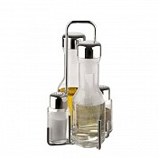 Vinegar & Oil Menage PROFI 4-parts Glass/Stainless Steel - 1pcs.